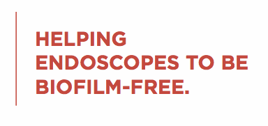 Helping endoscopes to be biofilm free