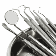 Solutions for dental instruments